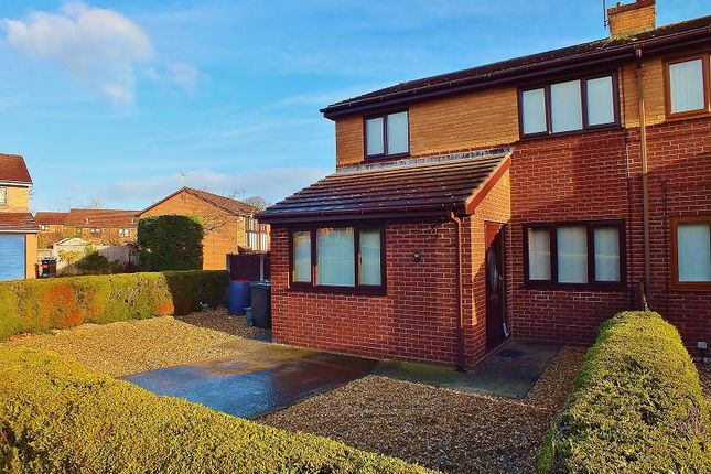 Thumbnail Semi-detached house to rent in Arenig Close, Summerhill, Wrexham