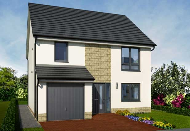 """Thumbnail Detached house for sale in """"Tuscan Hamilton Gardens"""" at Duffus Heights, Elgin"""