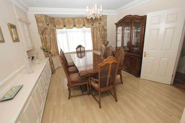 Dining Room of Hillside Gardens, Edgware, Greater London. HA8
