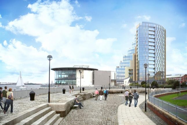 Thumbnail Flat for sale in Herculaneum Quay, Riverside Drive, Liverpool