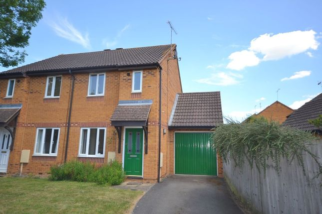 Thumbnail Semi-detached house to rent in Plessey Close, Towcester