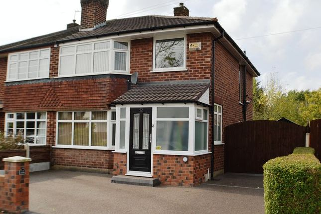 Thumbnail Semi-detached house for sale in Langdale Road, Woodley, Stockport