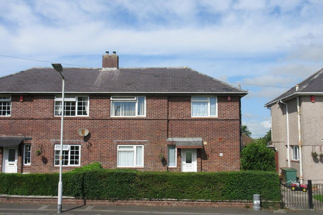 Thumbnail Semi-detached house for sale in Admiralty Road, St Budeaux, Plymouth, Devon