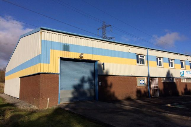 Thumbnail Industrial to let in Rassau Industrial Estate, Rassau, Ebbw Vale