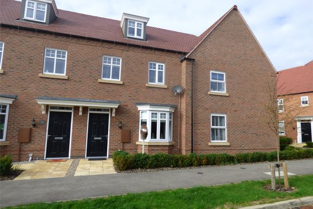 Thumbnail Detached house for sale in William Spencer Avenue, Sapcote, Leicester, Leicestershire