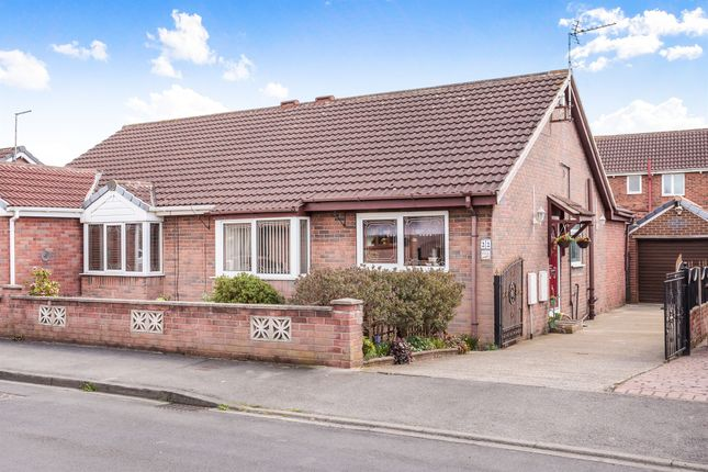 2 bed semi-detached bungalow for sale in Brooksfield, South Kirkby, Pontefract