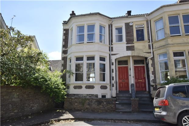 Thumbnail End terrace house for sale in Downfield Road, Clifton, Bristol