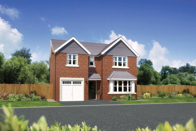 "Thumbnail Detached house for sale in ""Hampsfield"" at Church Road, Warton, Preston"