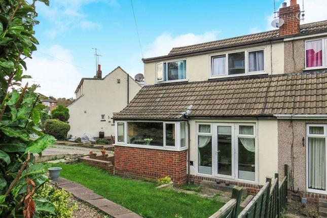 Thumbnail Semi-detached house for sale in Cornmill Crescent, Liversedge