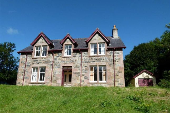 Thumbnail Detached house for sale in Free Presbyterian Manse, Lochinver, Sutherland