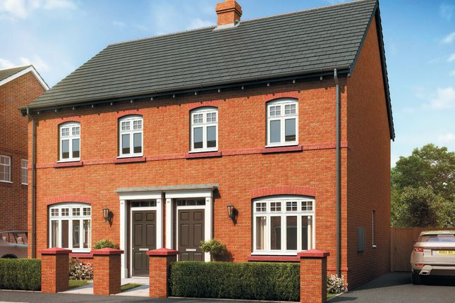 """Thumbnail Semi-detached house for sale in """"Kennett (Rural)"""" at Tarporley Business Centre, Nantwich Road, Tarporley"""
