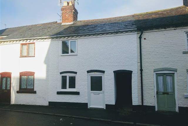 Thumbnail Terraced house to rent in Noble Street, Wem