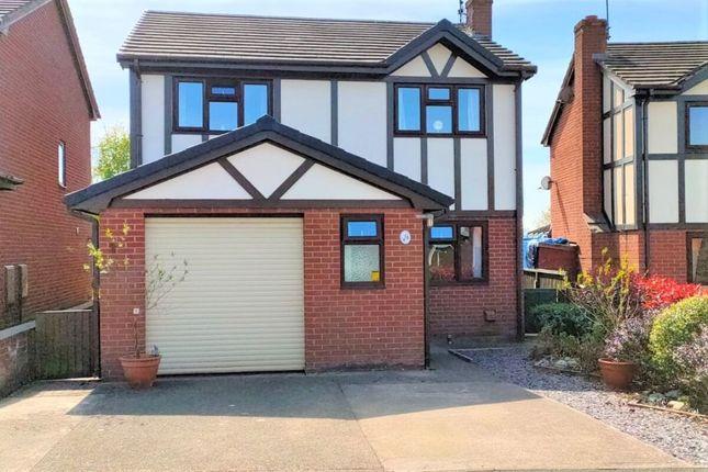 Thumbnail Detached house for sale in Llwyn Bach, Ruabon, Wrexham