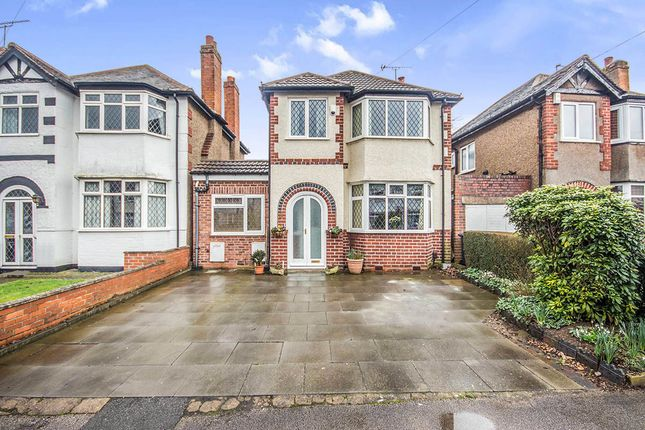 Thumbnail Detached house for sale in Colebrook Croft, Shirley, Solihull