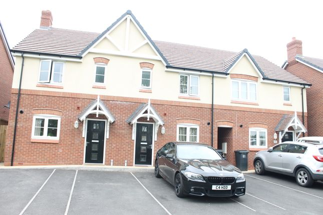 Thumbnail End terrace house to rent in Milliners Reach, Atherstone, Wawrickshire
