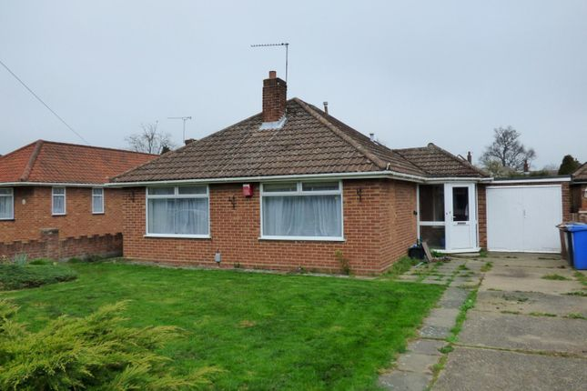 Thumbnail Bungalow to rent in Chelsworth Avenue, Ipswich