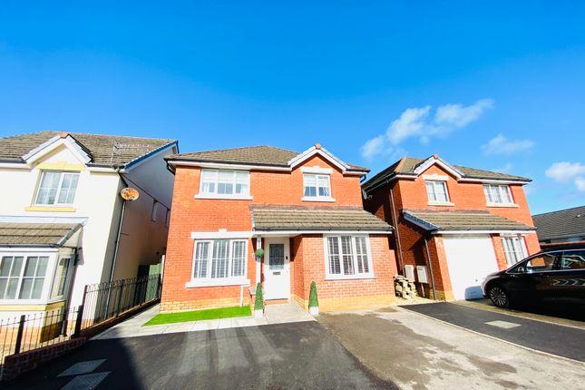 Thumbnail Detached house for sale in Clos Yr Ysgol, Llanelli
