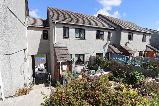 Thumbnail End terrace house for sale in Tregarrick, Looe