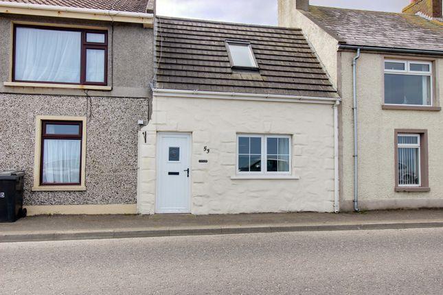 Thumbnail Terraced house for sale in Harbour Road, Ballyhalbert