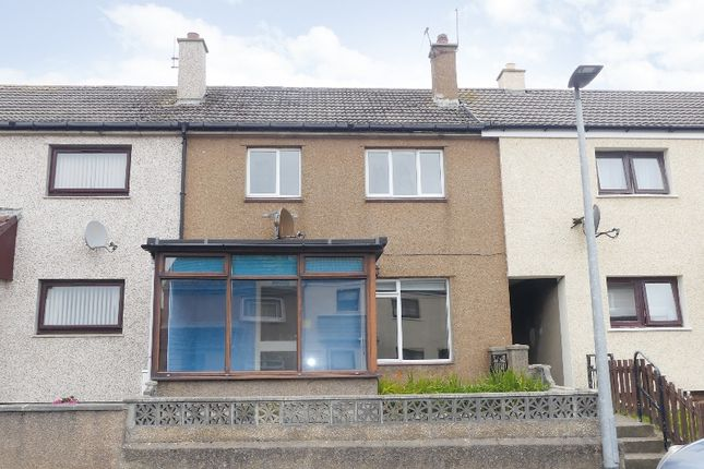 Thumbnail Terraced house for sale in Stroma Road, Thurso