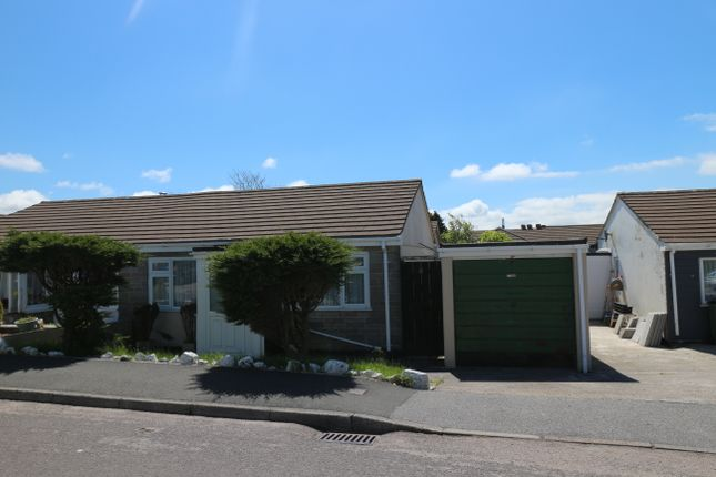 Thumbnail Semi-detached bungalow for sale in Trevarren Avenue, Four Lanes, Redruth