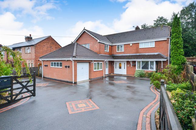 Thumbnail Detached house for sale in Alfreton Road, Selston, Nottingham