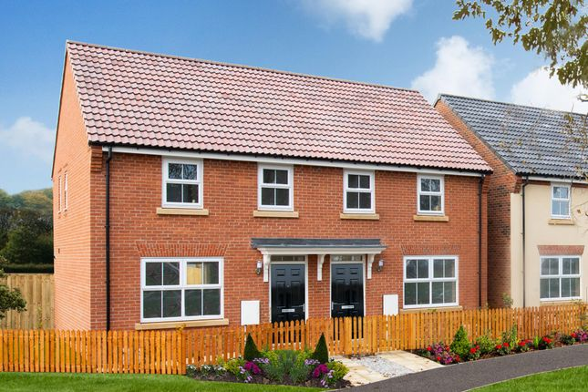 "Thumbnail End terrace house for sale in ""Archford"" at Tranby Park, Jenny Brough Lane, Hessle"