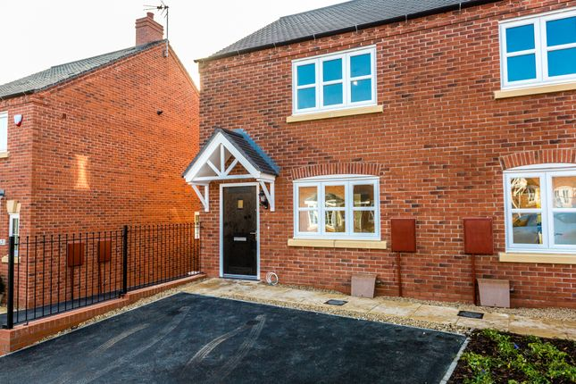 Thumbnail Terraced house for sale in Stafford Close, Melbourne, Derby