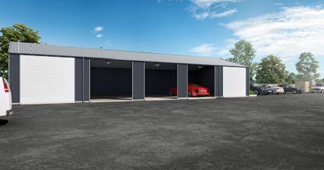 Thumbnail Warehouse to let in Bradford On Tone, Taunton