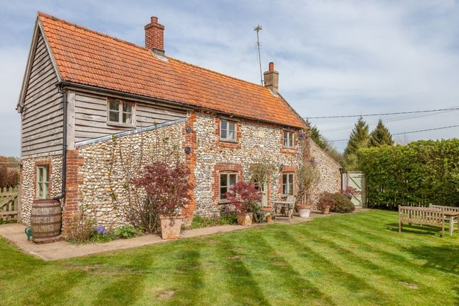 Thumbnail Cottage for sale in Mill Common, Newton-By-Castle Acre, King's Lynn