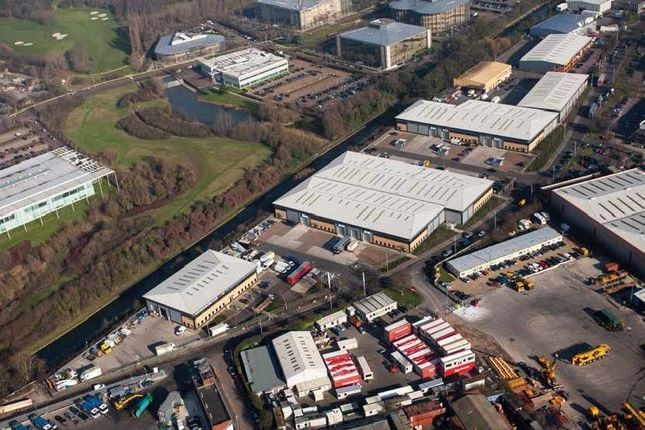 Industrial to let in Units 10/11, Waterway Park, Rigby Lane, Hayes