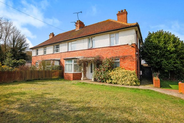 Thumbnail Semi-detached house for sale in The Crescent, Snowdown, Dover