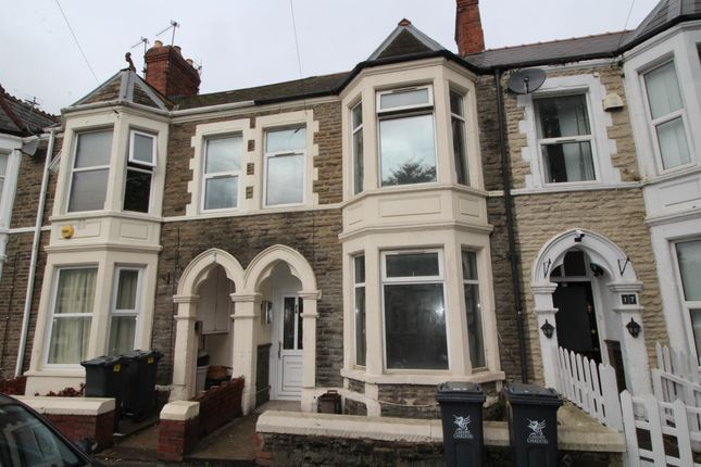 Thumbnail Terraced house for sale in Colum Place, Cathays, Cardiff