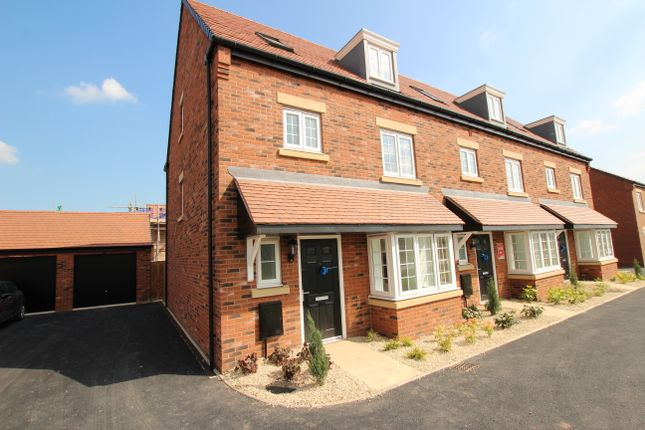 Thumbnail 4 bedroom end terrace house to rent in Rose Way, Edwalton, Nottingham