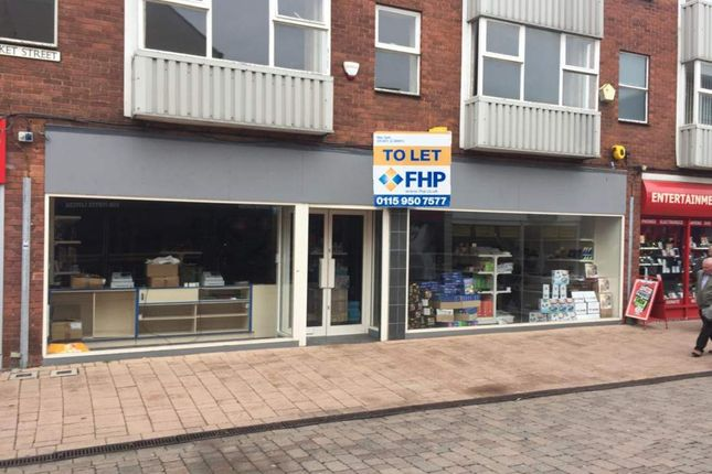 Thumbnail Retail premises to let in Unit 2-3, 1-8 Market St & 34-36 Cattlemarket, Loughborough