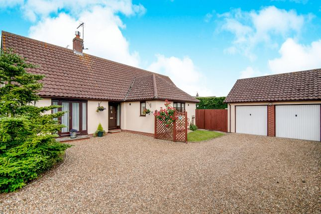 Thumbnail Detached bungalow for sale in Orchard Way, Badwell Ash, Bury St. Edmunds
