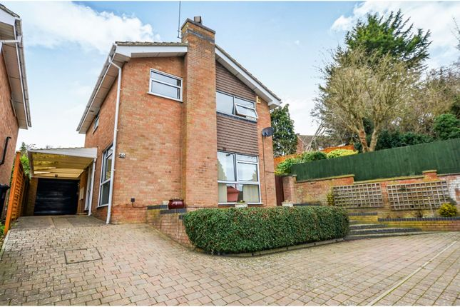 Thumbnail Detached house for sale in Spring Lane, Northampton