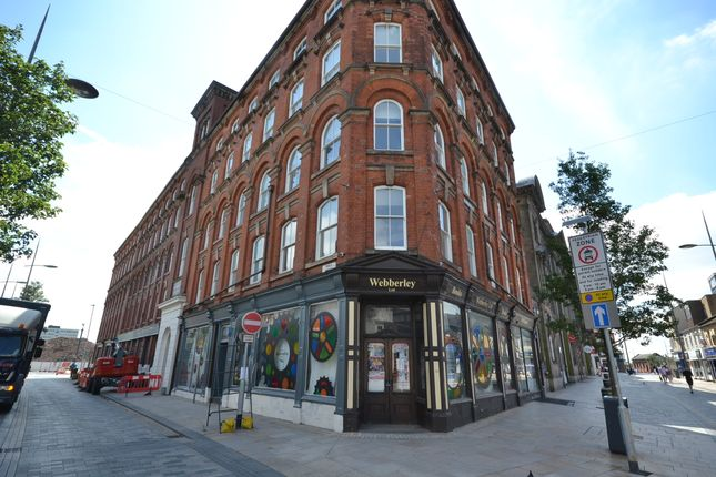 Thumbnail Flat to rent in Webberley Building, Stoke On Trent