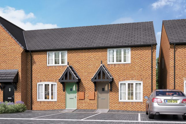 Thumbnail 2 bedroom terraced house for sale in Burton Road, Streethay, Lichfield, Staffordshire