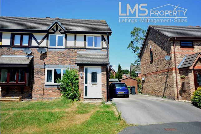 Thumbnail Semi-detached house to rent in Brackenfield Way, Winsford