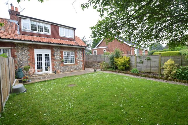 Thumbnail Semi-detached house for sale in The Street, Billingford, Dereham