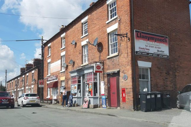 Retail premises for sale in High Street, Llanynech