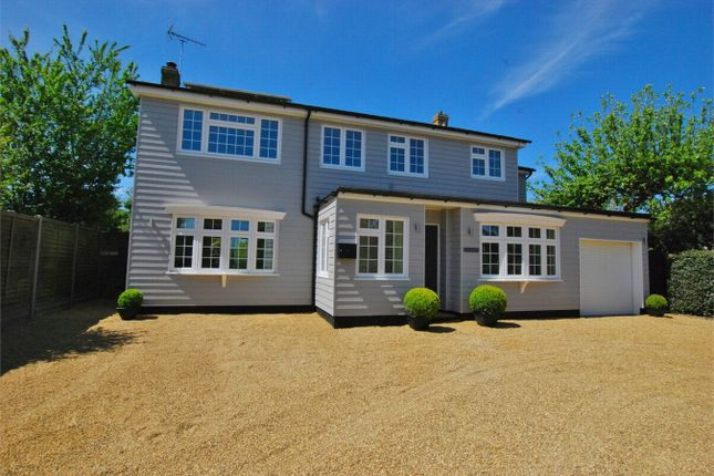 Thumbnail Detached house for sale in Quilters Green, Fordham, Essex