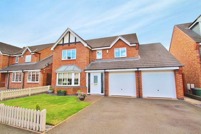 Thumbnail Detached house for sale in Hickling Close, Rothley, Leicestershire