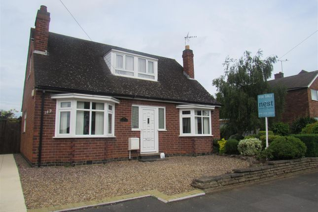 Thumbnail Detached bungalow for sale in Colby Drive, Thurmaston, Leicester