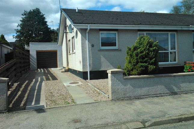 Thumbnail Semi-detached bungalow to rent in Hillside, Pitmedden, Ellon, Aberdeenshire