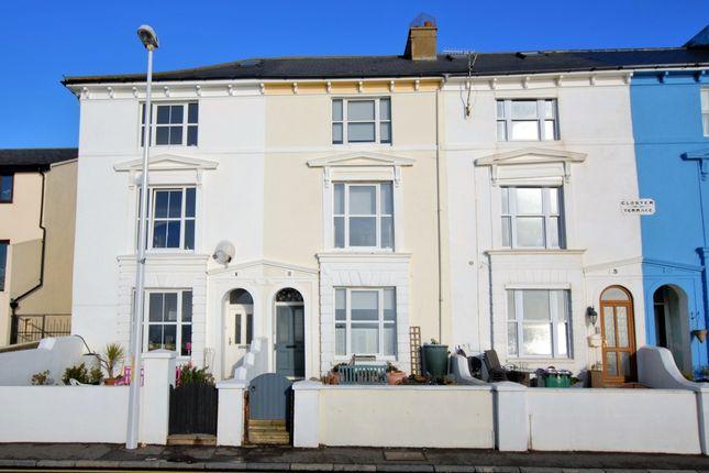 Thumbnail Terraced house for sale in The Esplanade, Sandgate