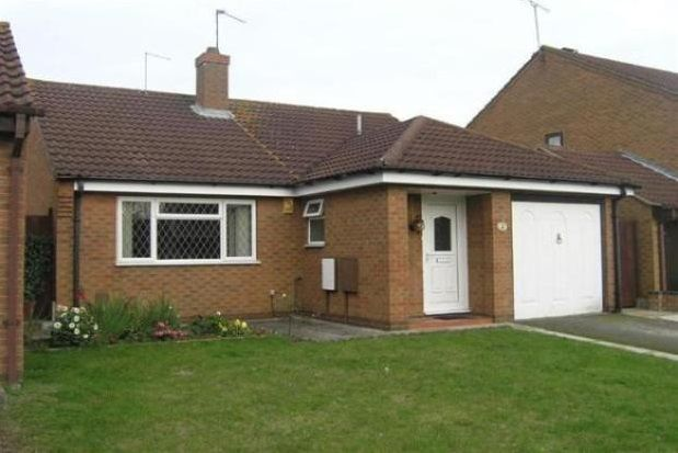 Thumbnail Bungalow to rent in Oakgrove Place, Northampton