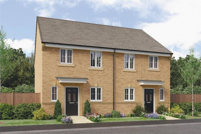 "Thumbnail Semi-detached house for sale in ""Hawthorne"" at Leeds Road, Thorpe Willoughby, Selby"