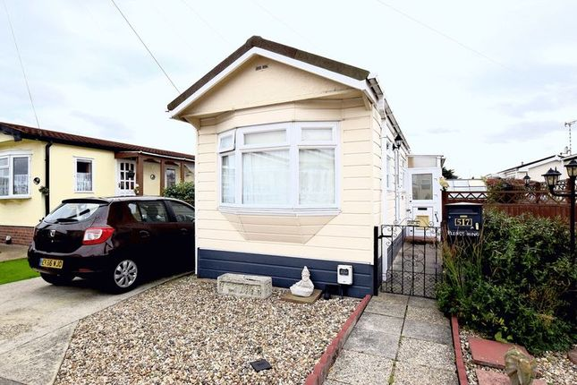 Thumbnail Detached house for sale in Hockley Mobile Homes, Lower Road, Hockley